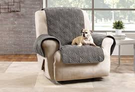 Image Clear Plastic Microfiber Pet Recliner Quilted Furniture Cover The Cover Store Pet Solutions Pet Furniture Covers Protectors Surefit