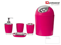black and pink bathroom accessories. 5pc Bathroom Accessory Set - Black, Pink, Blue, White, Orange, Green Black And Pink Accessories M