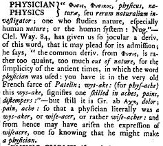 Word Origin Word Origin Of Physician English Words Of Unexpected Greek Origin