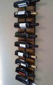 wall hanging wine rack for   wall hanging wine rack hanging