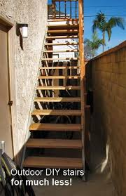 exterior metal staircase prices. outdoor diy stairs, for much less! exterior metal staircase prices a
