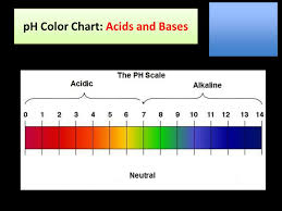 Ph Color Chart Acids And Bases Ph Color Chart Acids And Bases Ppt Download