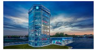 Car Vending Machine Dallas Enchanting Carvana Debuts Newest Car Vending Machine In The Nation's Capital