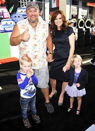 larry the cable guy wife. Interesting Guy Larry With His Family At The Los Angeles Premiere Of Cars 2Arrivals Intended The Cable Guy Wife T