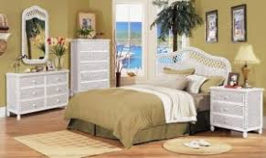 Wicker Bedroom Furniture in a variety of styles
