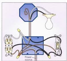 wiring a 2 way switch light switch wiring diagram super c at Light Switch Wiring Diagram