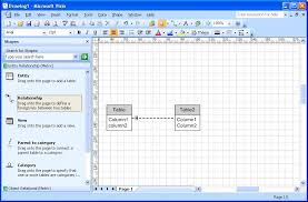 Crow S Foot Notation Crows Foot Notation In Visio 2007 Super User