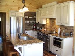 Brilliant Small Country White Kitchen Ideas Example Of A Classic Design In Other Creativity