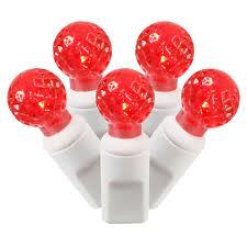 Red Globe String Lights Led Christmas Lights G12 Globe Lights 50 Commercial