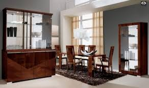 contemporary italian dining room furniture. Extendable Rectangular In Wood Top With Fabric Seats Modern Dining Set Contemporary Italian Room Furniture F