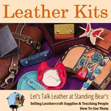 leather kits ling leathercraft supplies and teaching people how to do leatherwork
