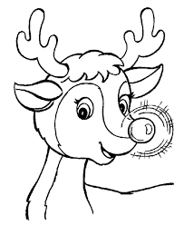 Small Picture Rudolph And Santa Leigh Reindeers Coloring Page Animal Coloring