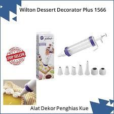 Jual Murah Hot Sale Wilton Dessert Decorator Plus Alat Dekor