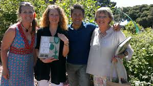 Jamie Durie with the 3 past presidents Sam Smith, Faye Connors ...