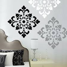 damask pattern wall decal stickers wall stickers set of 12 design ideas of damask wall decals on damask sticker wall art with damask pattern wall decal stickers wall stickers set of 12 design