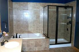 whirlpool shower combo jetted tub glass combination corner tubs bath curtain rail track jacuzzi ideas bed shower combo bathtub