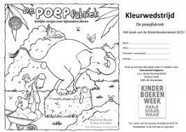 Kangoeroewedstrijd 2017 Kleurplaat Kinderboekenweek 2015 Actie Win