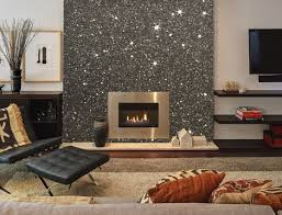 glitter wallpaper front room
