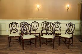 Set Of  To  Sweetheart Shield Back Dining Chairs - Shield back dining room chairs
