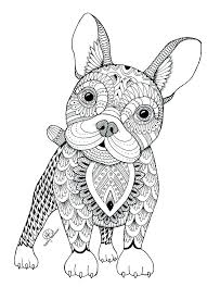 Colouring In Pictures Of Dogs Top Free Printable Dog Coloring Pages