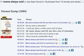 Movie Quote Search Impressive Subzin A Movie Quote Search Engine