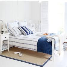 excellent blue bedroom white furniture pictures. Blue And White Double Bed In A Room Excellent Bedroom Furniture Pictures