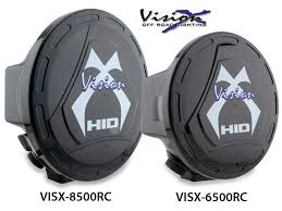 vision x plastic light covers fit the hid 5700 6500 or 8500 series lights