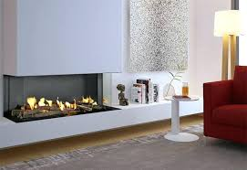 direct vent gas fireplace corner modern double direct vent gas fireplace installation basement