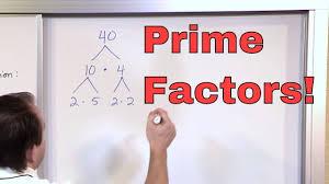 Prime Factorization 5th Grade Math Finding Factors Of A Number Factoring Math Homework Help