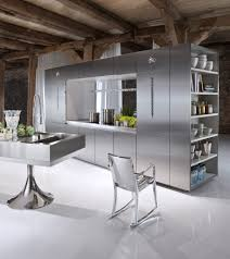 Stainless Steel Kitchen Furniture Retro Stainless Steel Kitchen Cabinets Ideas Kitchen Trends