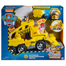 PAW Patrol Ultimate Rescue Construction Truck with Mini Vehicle ...