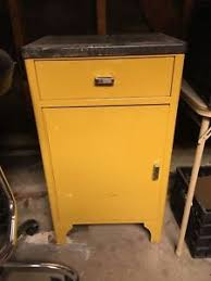 vtg 1940 50s simmons furniture metal medical. Vintage Steel Industrial Medical Cabinet Great Condition ORIGINAL PAINT Vtg 1940 50s Simmons Furniture Metal I