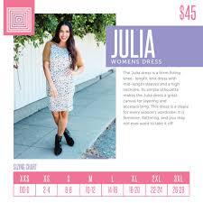 Lularoe Sizing Size Charts Size Guide Lularoe Jenn King
