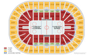 Us Bank Arena Seating Chart With Rows And Seat Numbers Us