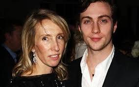 Aaron Johnson, fiancé of artist Sam Taylor-Wood, considers himself 'a very  lucky man'