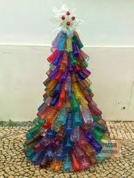 Christmas Decorations Made Out Of Plastic Bottles Christmas tree with waste plastic bottles Christmas float 58