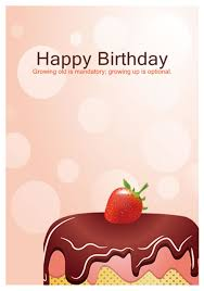 free happy birthday template 40 free birthday card templates template lab