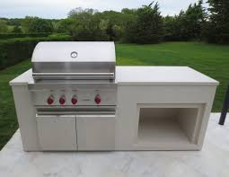 outdoor bbq grills. Outdoor BBQ Wolf Grill Countertop Fabricated By Trueform Concrete Bbq Grills O