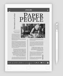 the paper tablet