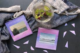 crafty with canon diy glass coasters