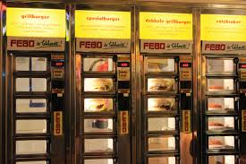 Vending Machine Amsterdam Fascinating Food Vending Machine Amsterdam Bel Around The World