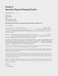 sle security deposit refund letter from landlord fresh letter