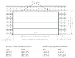 Commercial Garage Door Size Chart 9 Garage Door Header Size Dallasgaragedoor Co