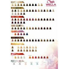 Wella Color Touch Chart Wella Colour Touch For Sale Ebay