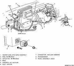 89 corvette climate control heater blend door heater control valve