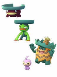 Shiny Lotad Line Castform Models Via Chrales Thesilphroad
