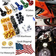 <b>Universal</b> Fit Motorcycle Bolt Kits <b>for Kawasaki</b> Ninja 650 for sale ...