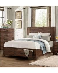 Amazing Deal on Homelegance 1877 1 Brazoria Rustic Wood Queen Bed