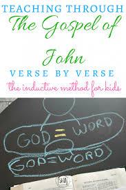 Teen bible study john 1