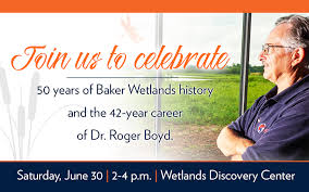 Boyd and Wetlands celebrated at June event - Baker University
